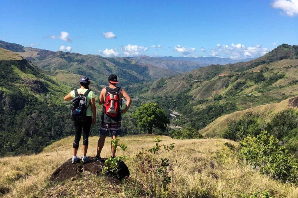 Trekking durch das Hinterland von Fidschi