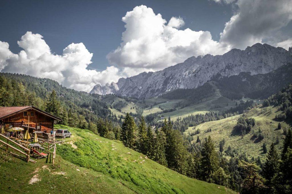 Berglandschaft im Kufsteinerland
