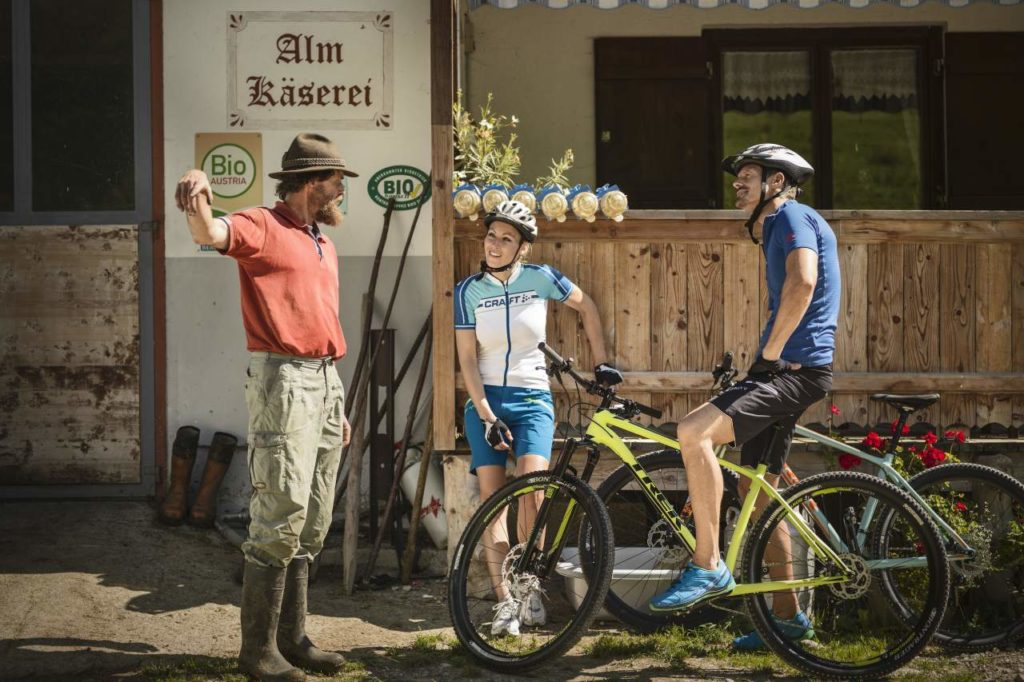 Fahrrad-Genussroute Bio am Berg