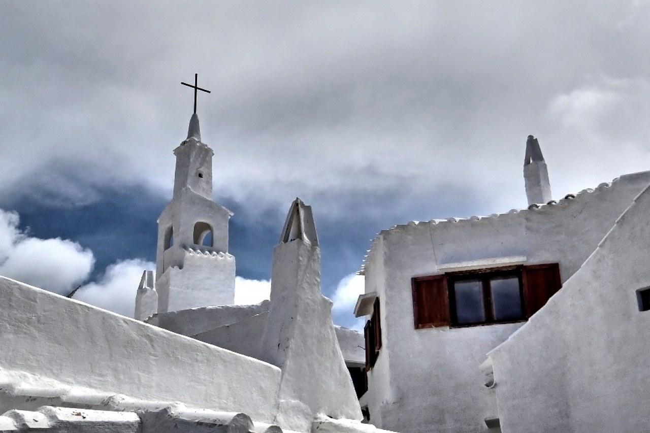 Kirchturm von Binibeca