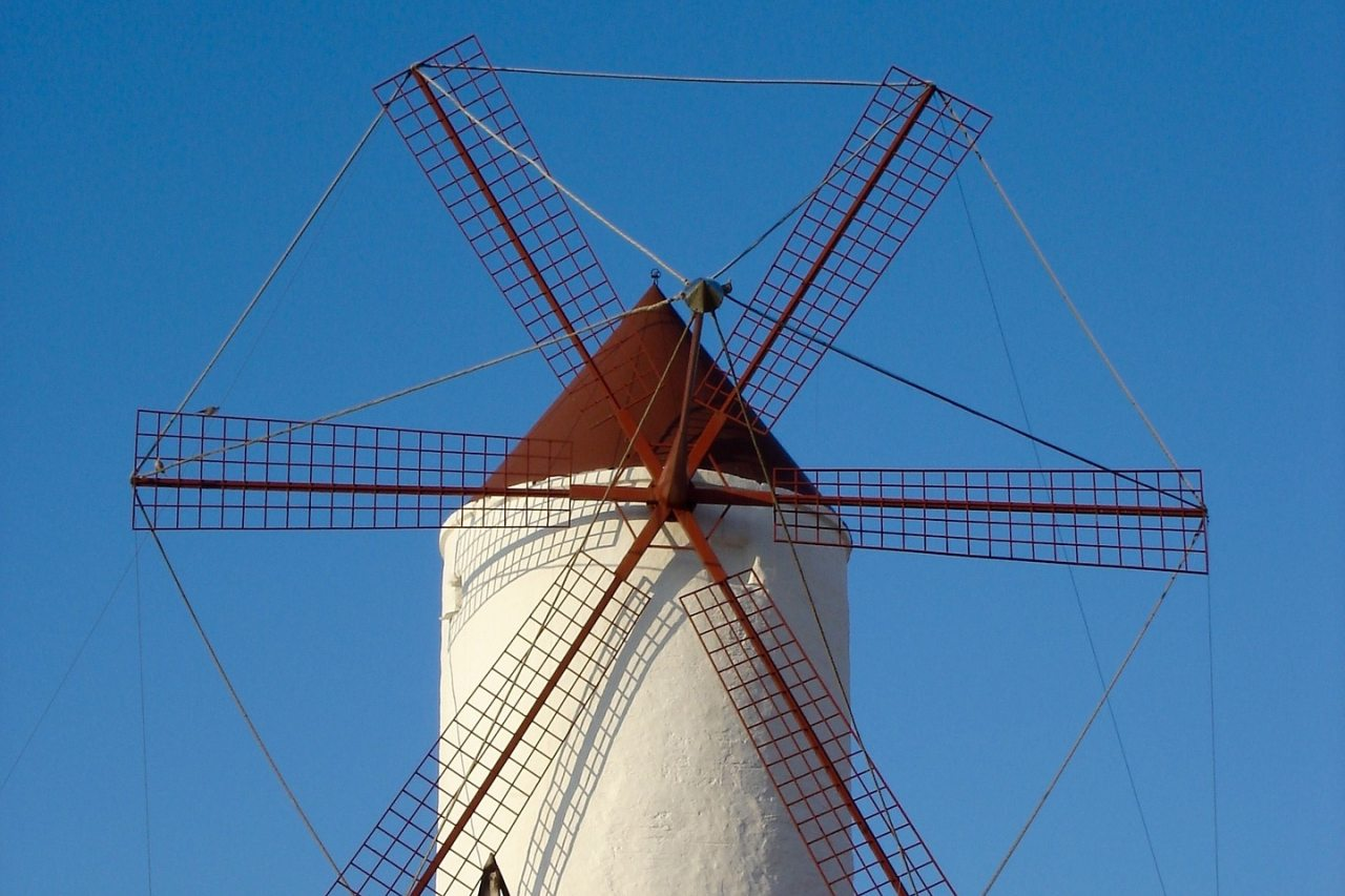 Mühle bei Es Mercadal