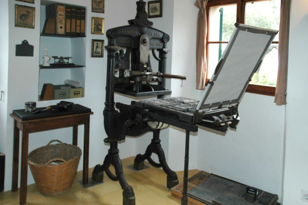 Robert Graves Haus Presseraum