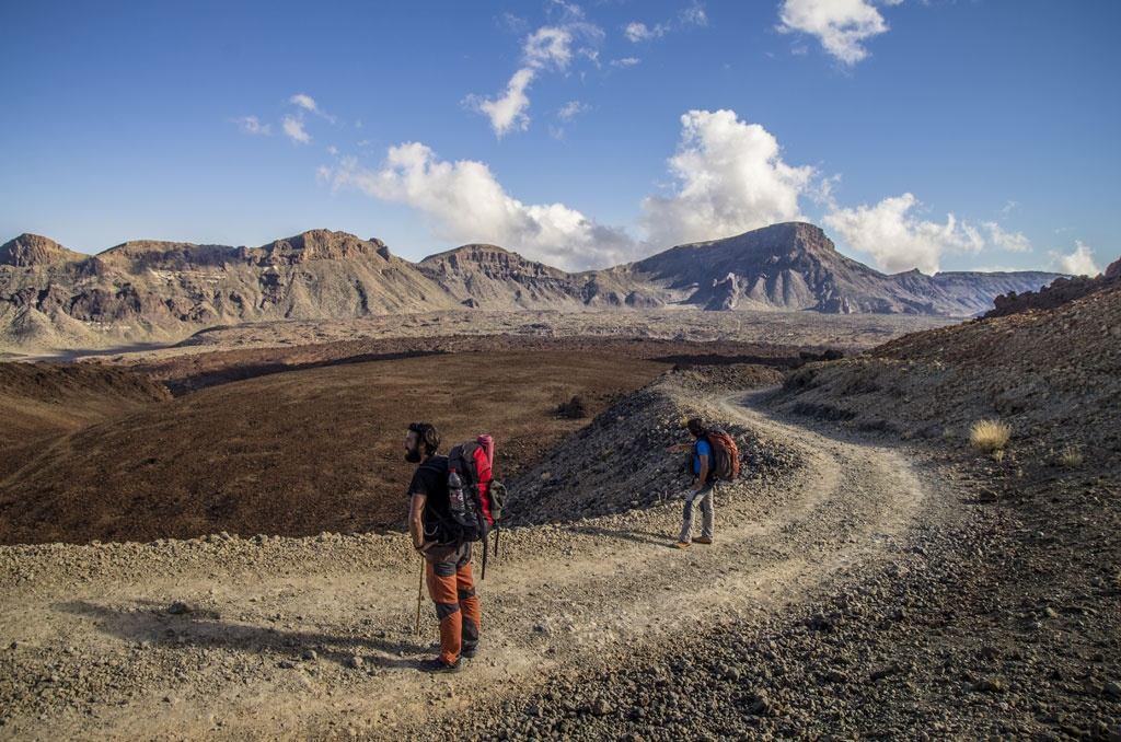 Wanderweg Montaña Blanca zum Teide