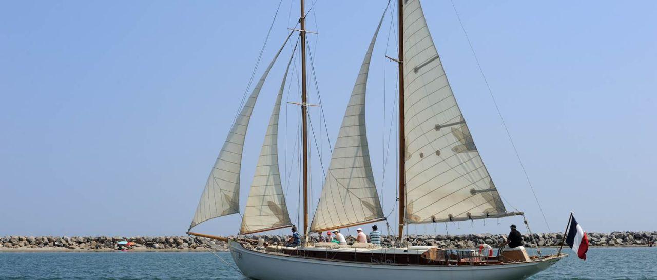 Zweimaster Limnoreia Port Leucate