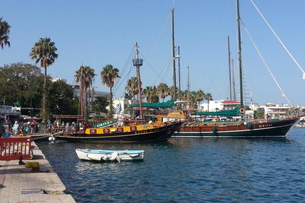 Ausflugsboote Hafen Kos-Stadt