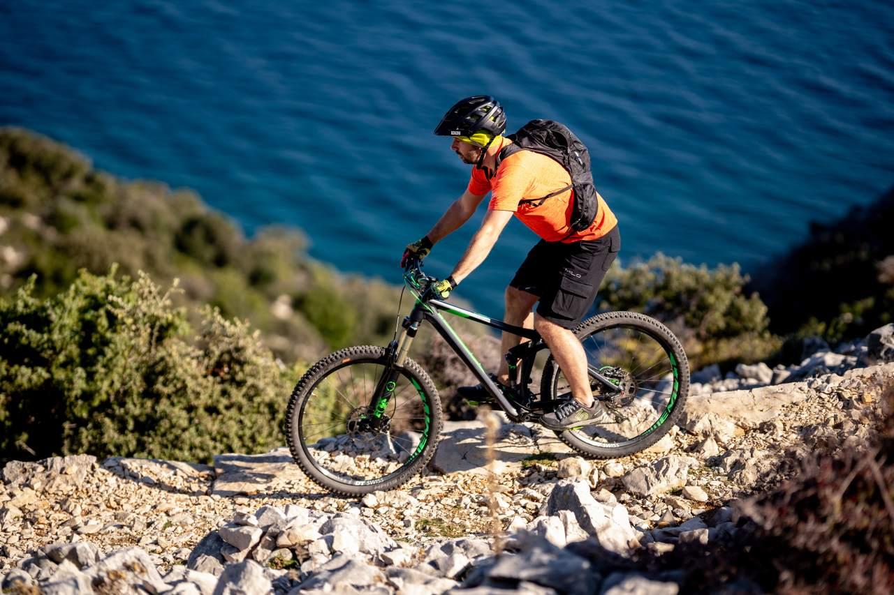 Bike-Trail auf der Insel Rab