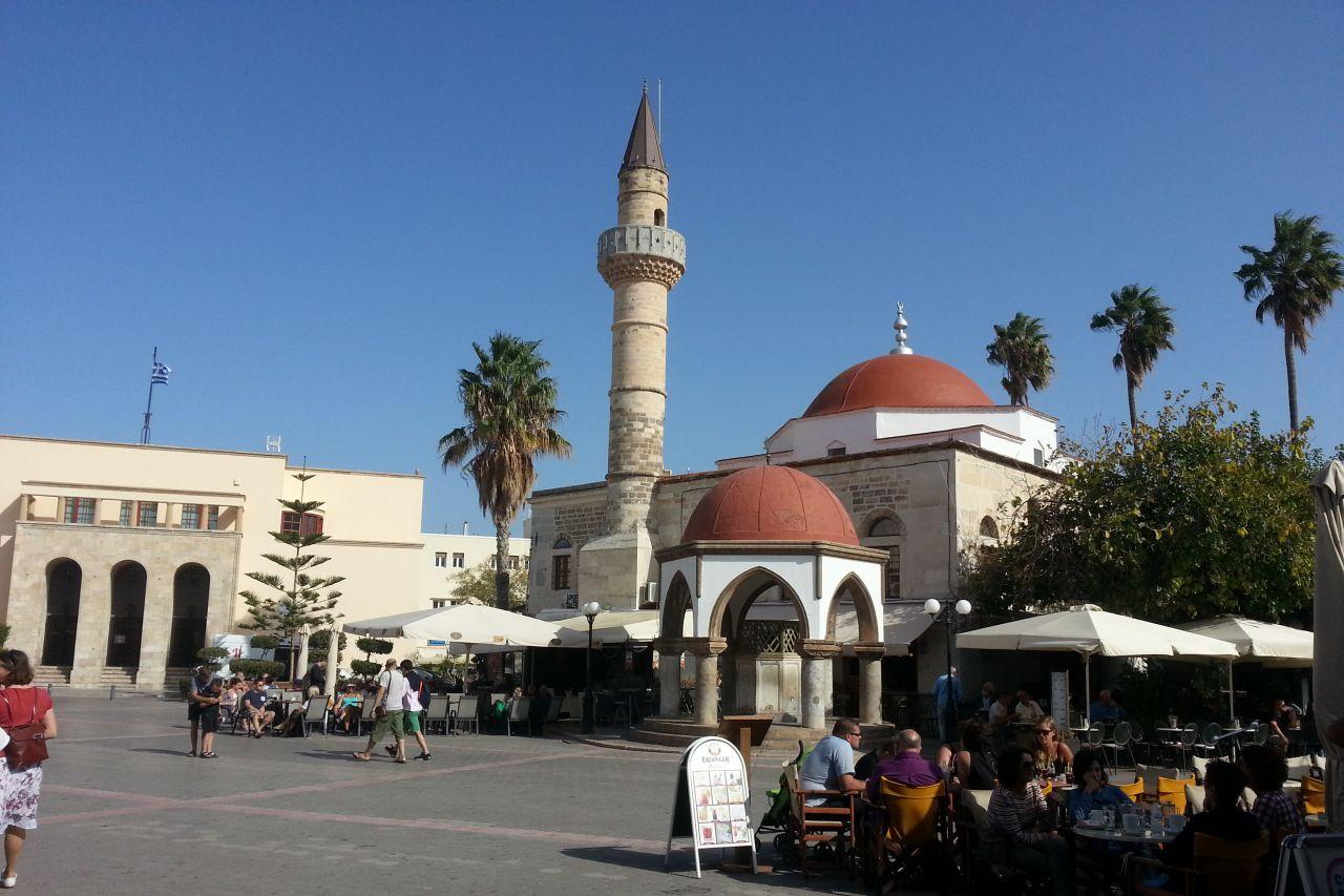 Defterdar-Moschee in Kos-Stadt