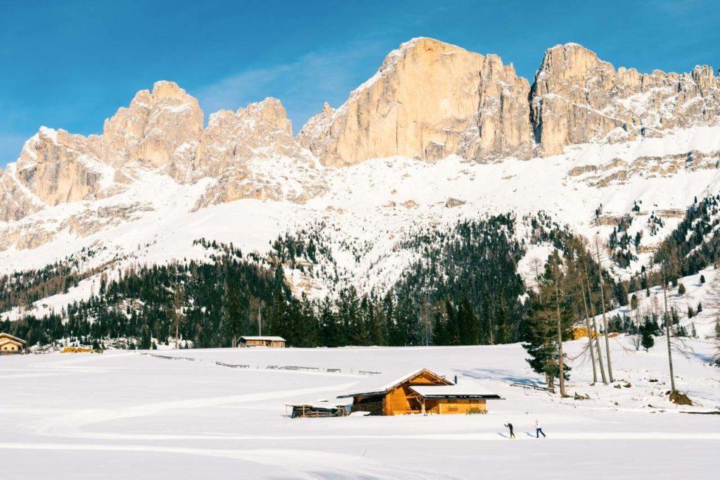 Eggental Langlauf Dolomiten