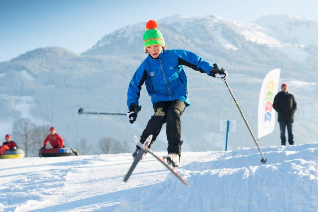 Fun-Snow-Park für Kinder am Ritzensee