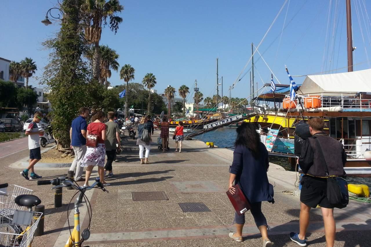 Hafenpromenade von Kos-Stadt