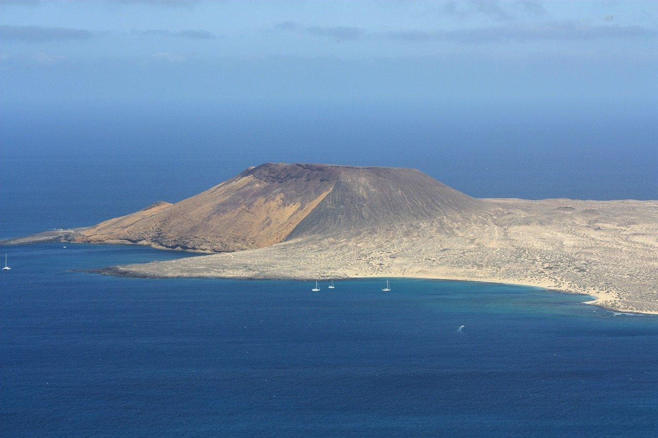 Insel La Graciosa vor Lanzarote