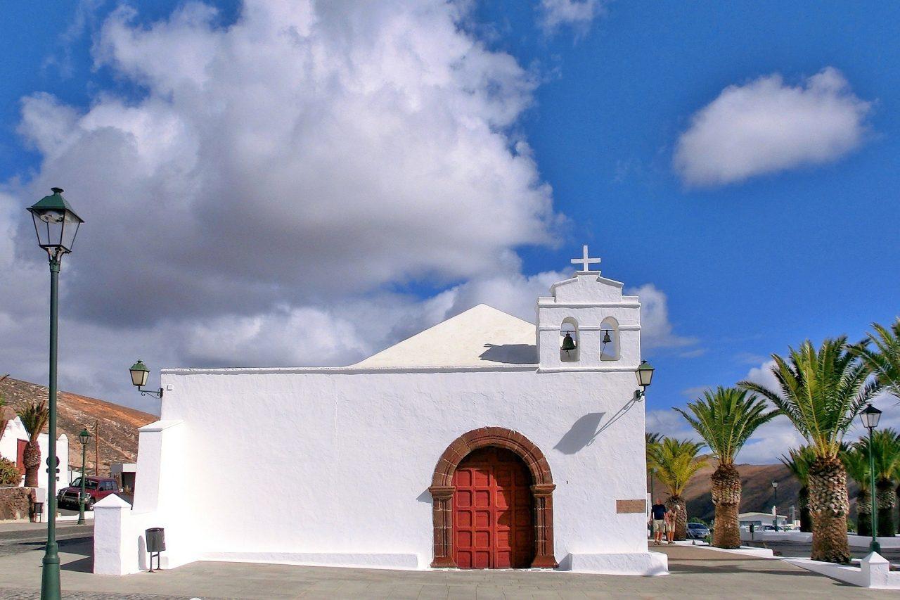 Kirche La Geria Lanzarote