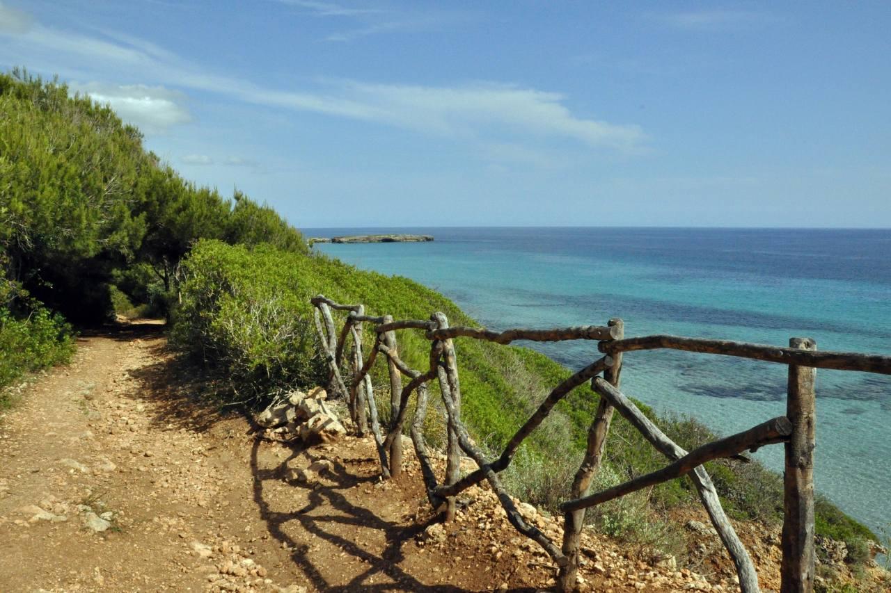 Küsten-Wanderweg auf Menorca