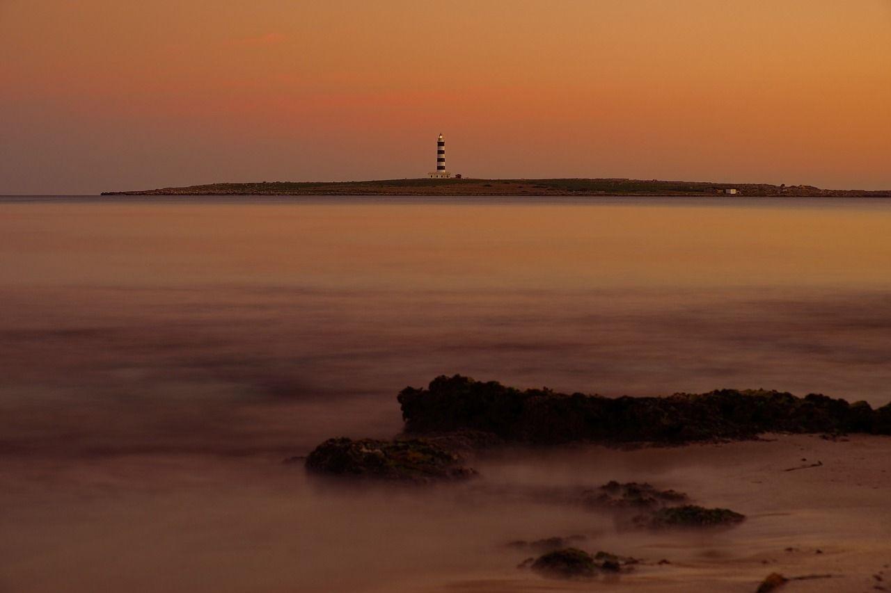Leuchtturm von Punta Prima