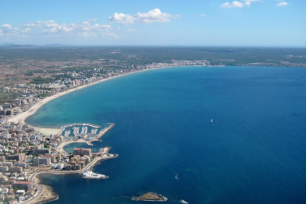 Playa de Palma aus der Luft