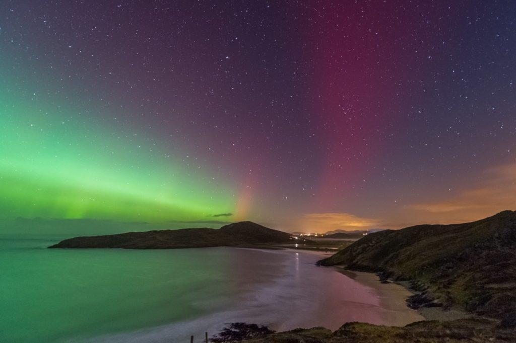 Polarlicht an der Tranarossan Bay