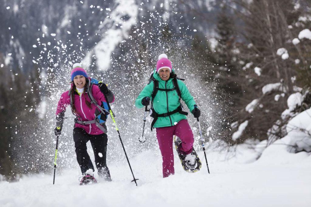 Schneeschuhwandern Natur Pillerseetal
