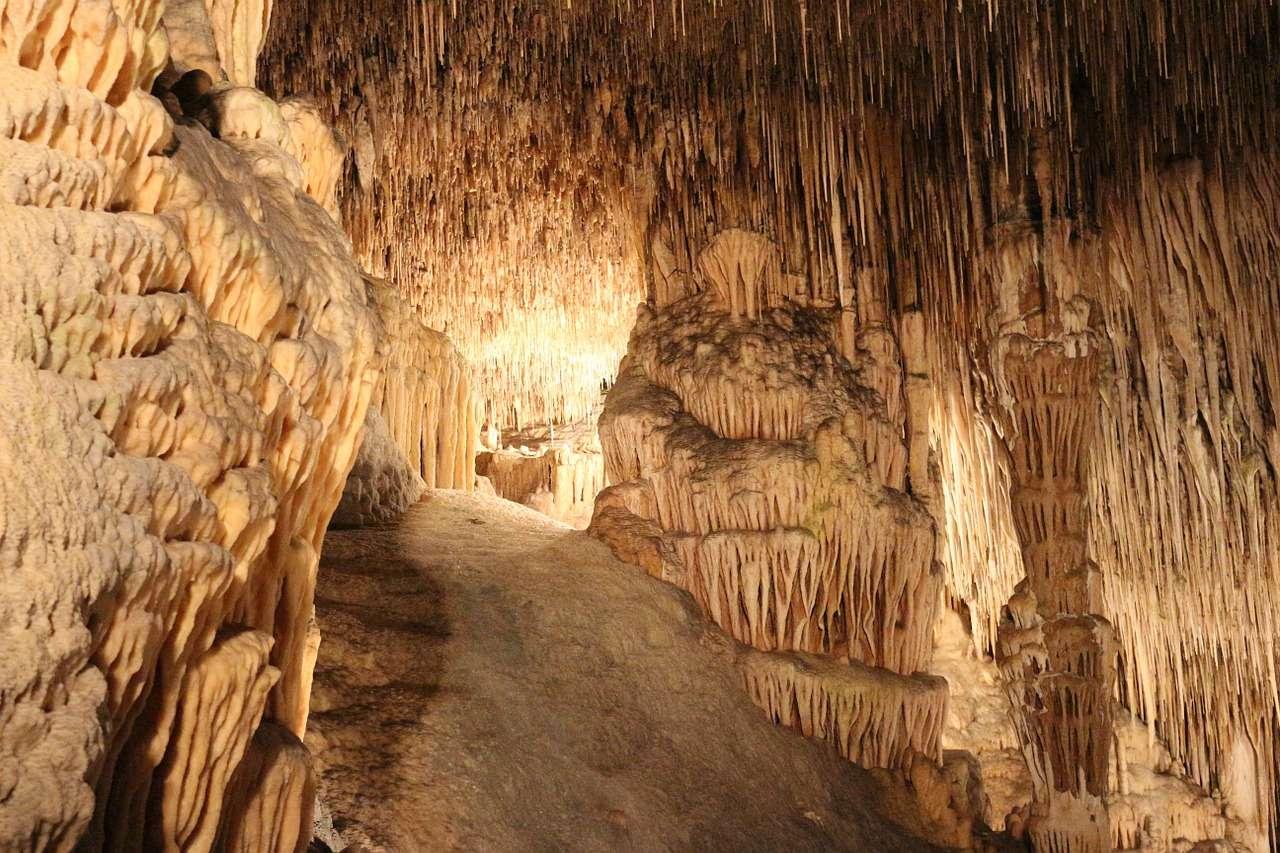 Stalagtiten Höhle Mallorca