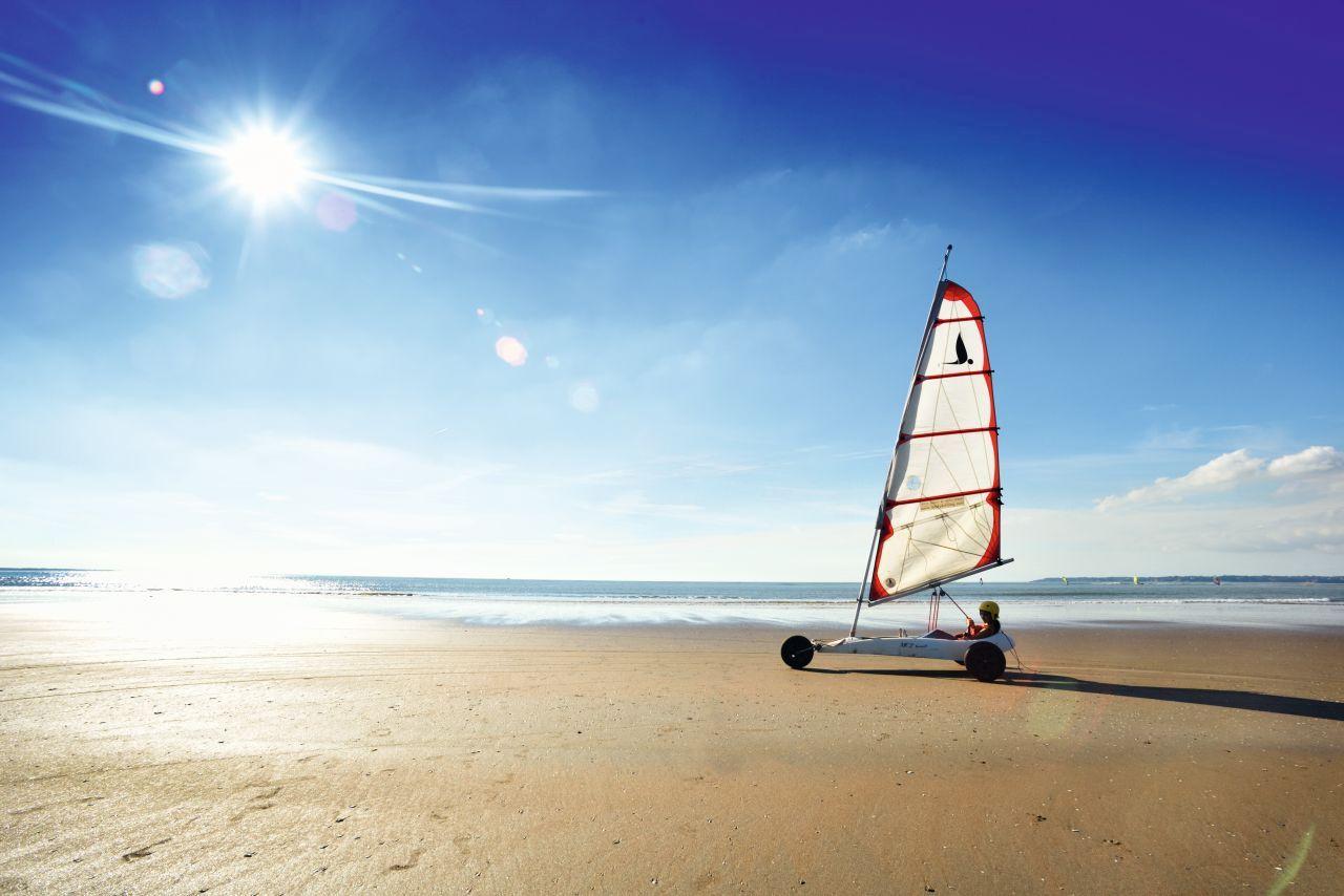 Strandsegeln Frankreich