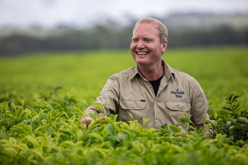 Tony Poyner Direktor der Nerada Plantation