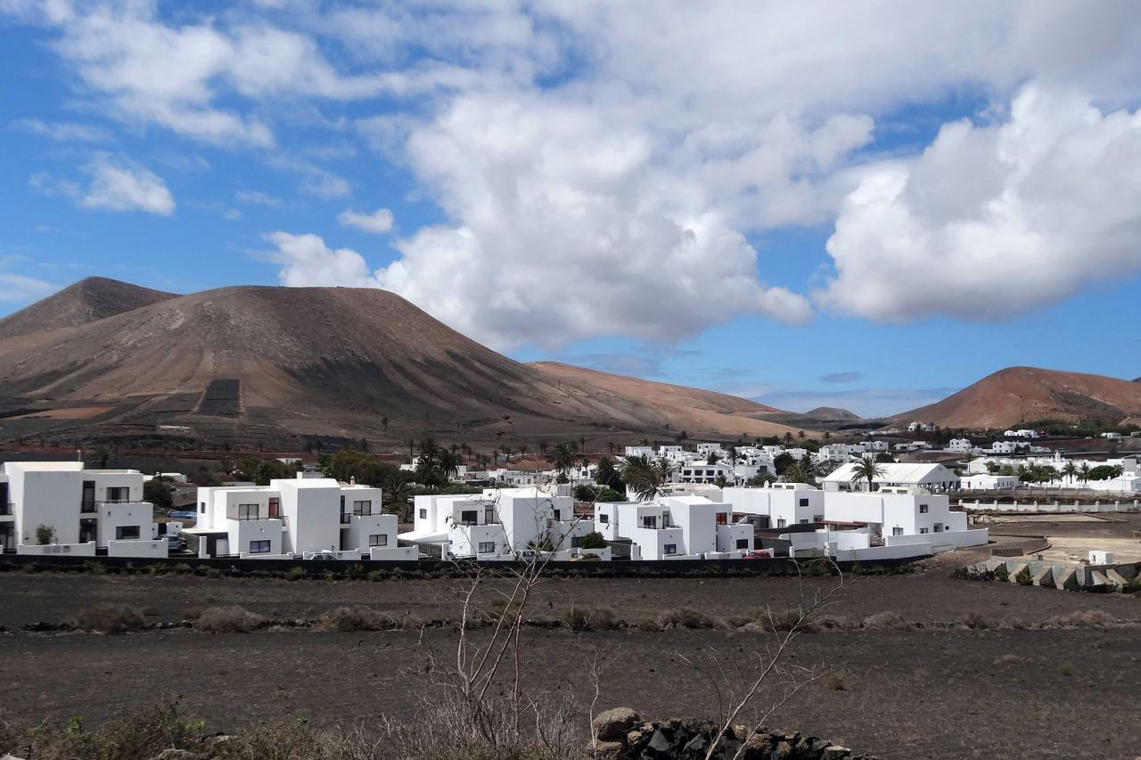 Typisches Dorf auf Lanzarote