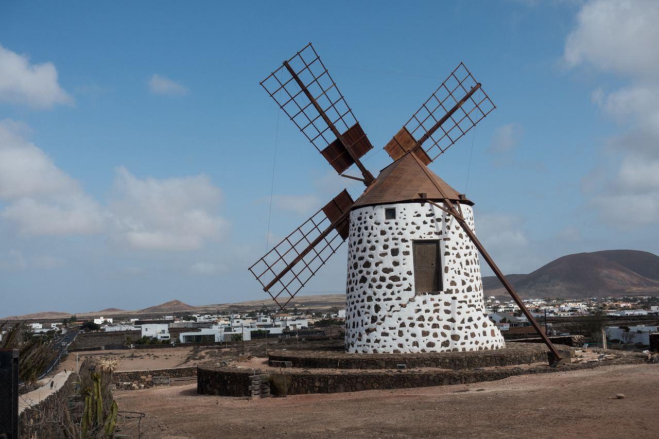 Windkraft auf Fuerteventura