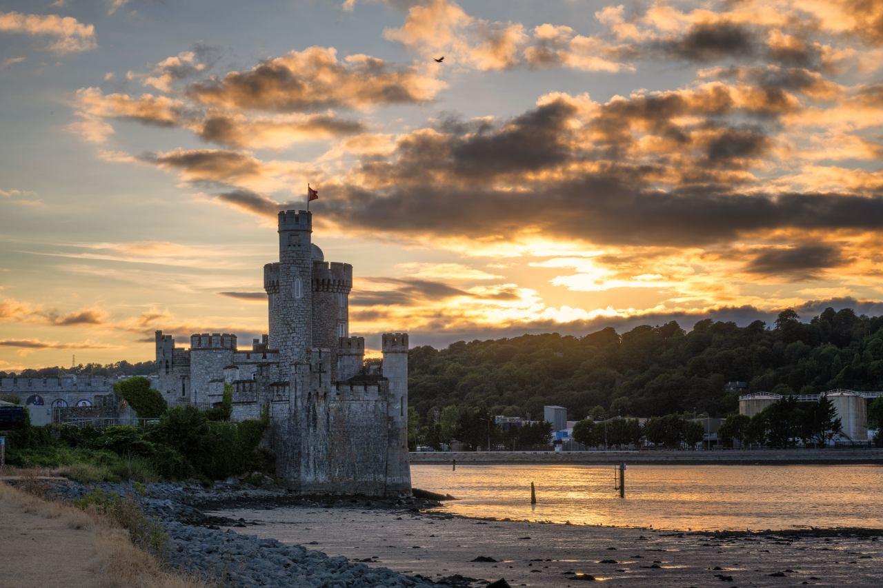 Blackrock Castle am River Lee