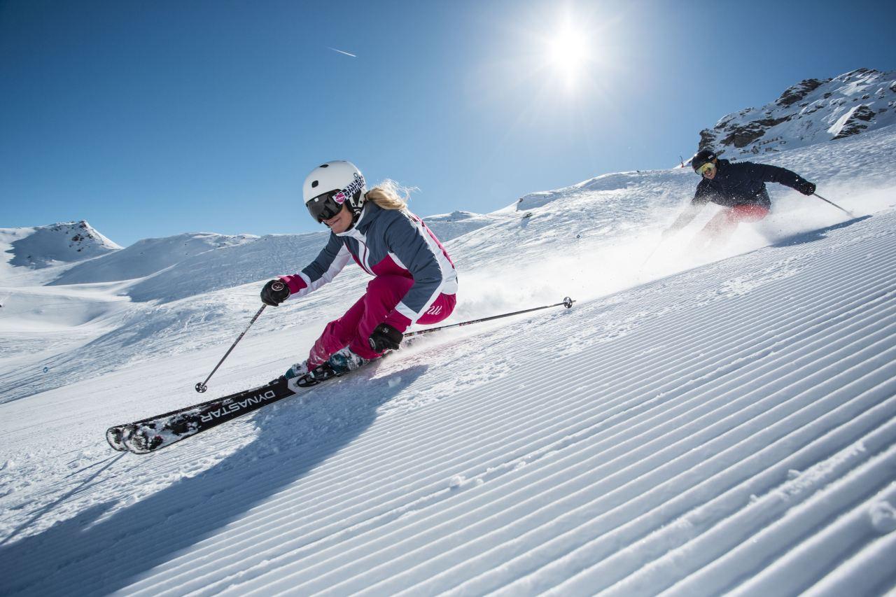 Carven im Skigebiet Hochfügen