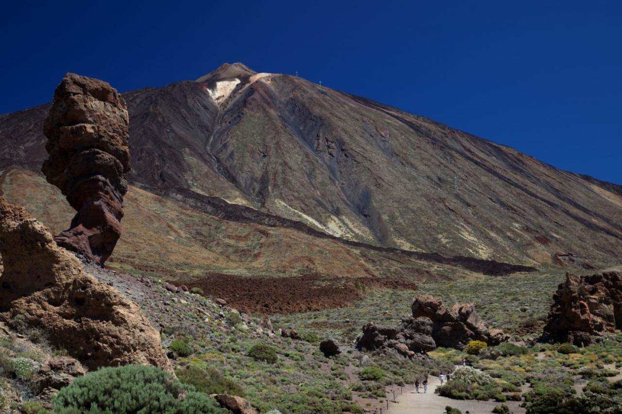 Der Gipfel des Teide im Cañadas del Teide-Nationalpark
