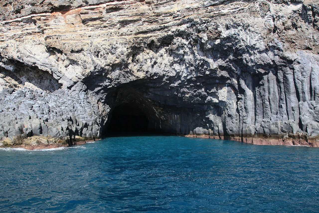 Einfahrt Cueva Bonita La Palma