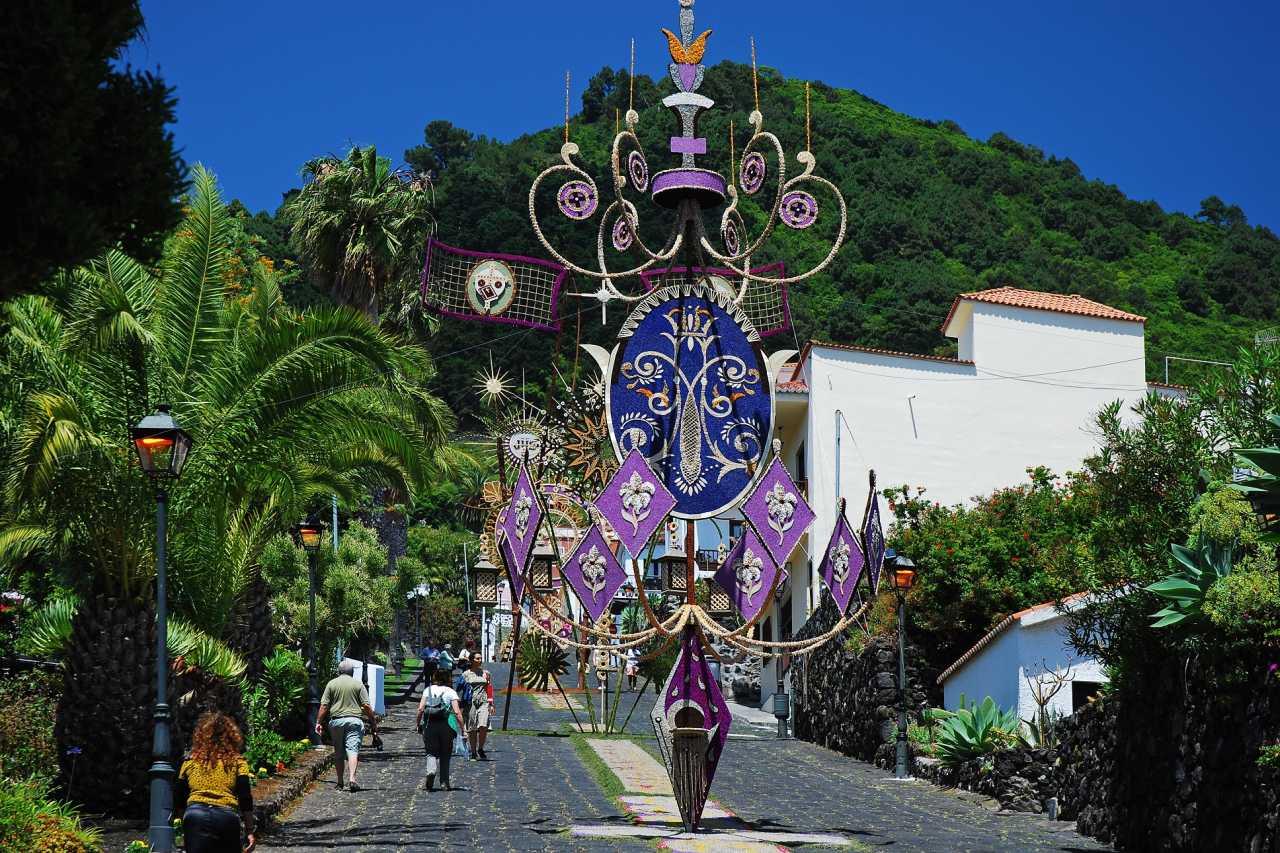 Fußgängerpromenade in Mazo La Palma