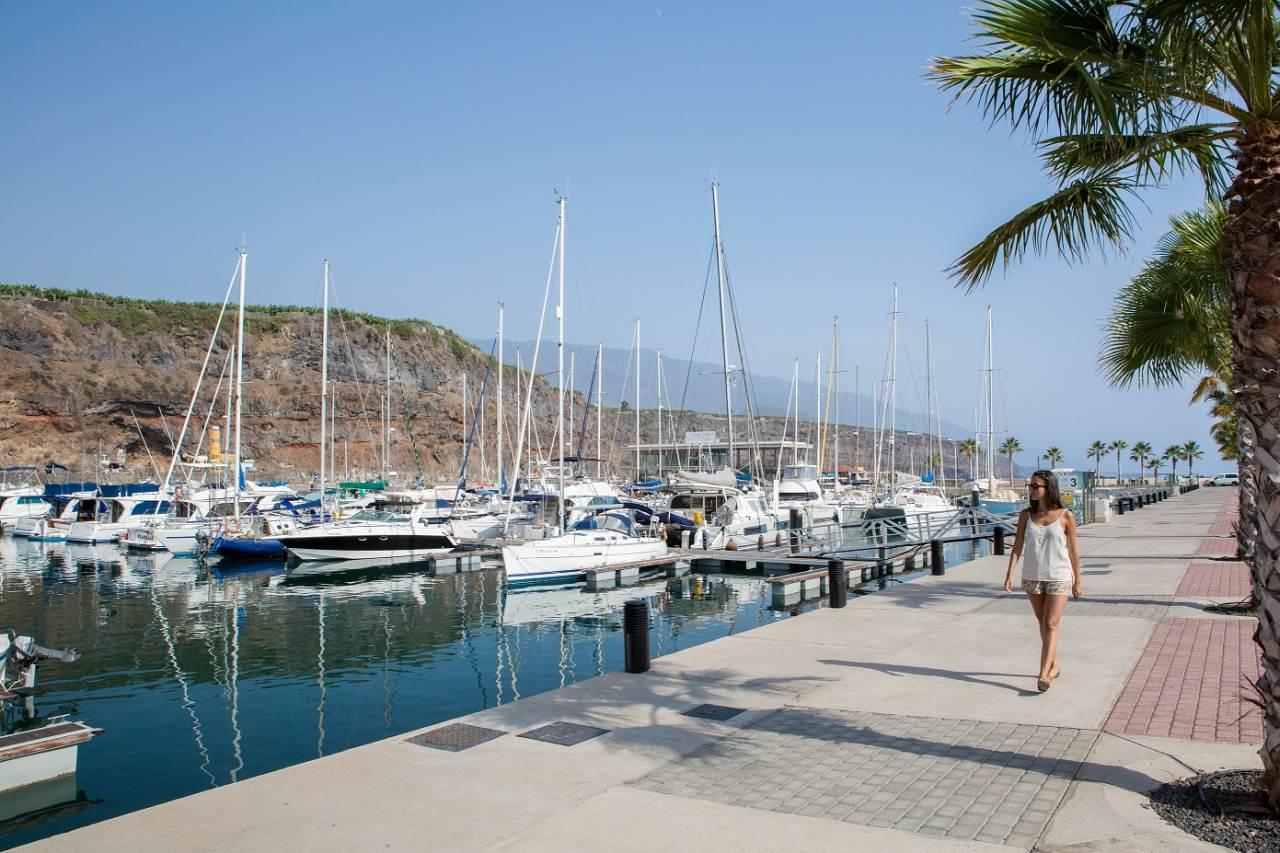 Hafen von Tazacorte auf La Palma