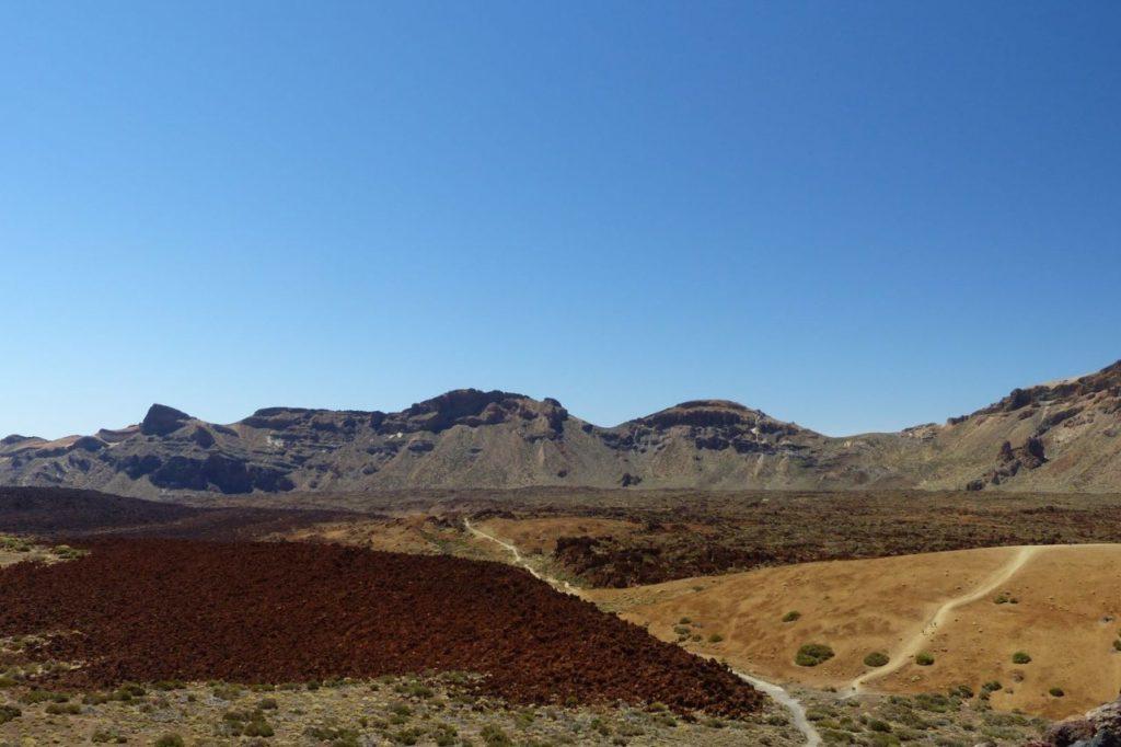 Karge Landschaft im Cañadas del Teide-Nationalpark
