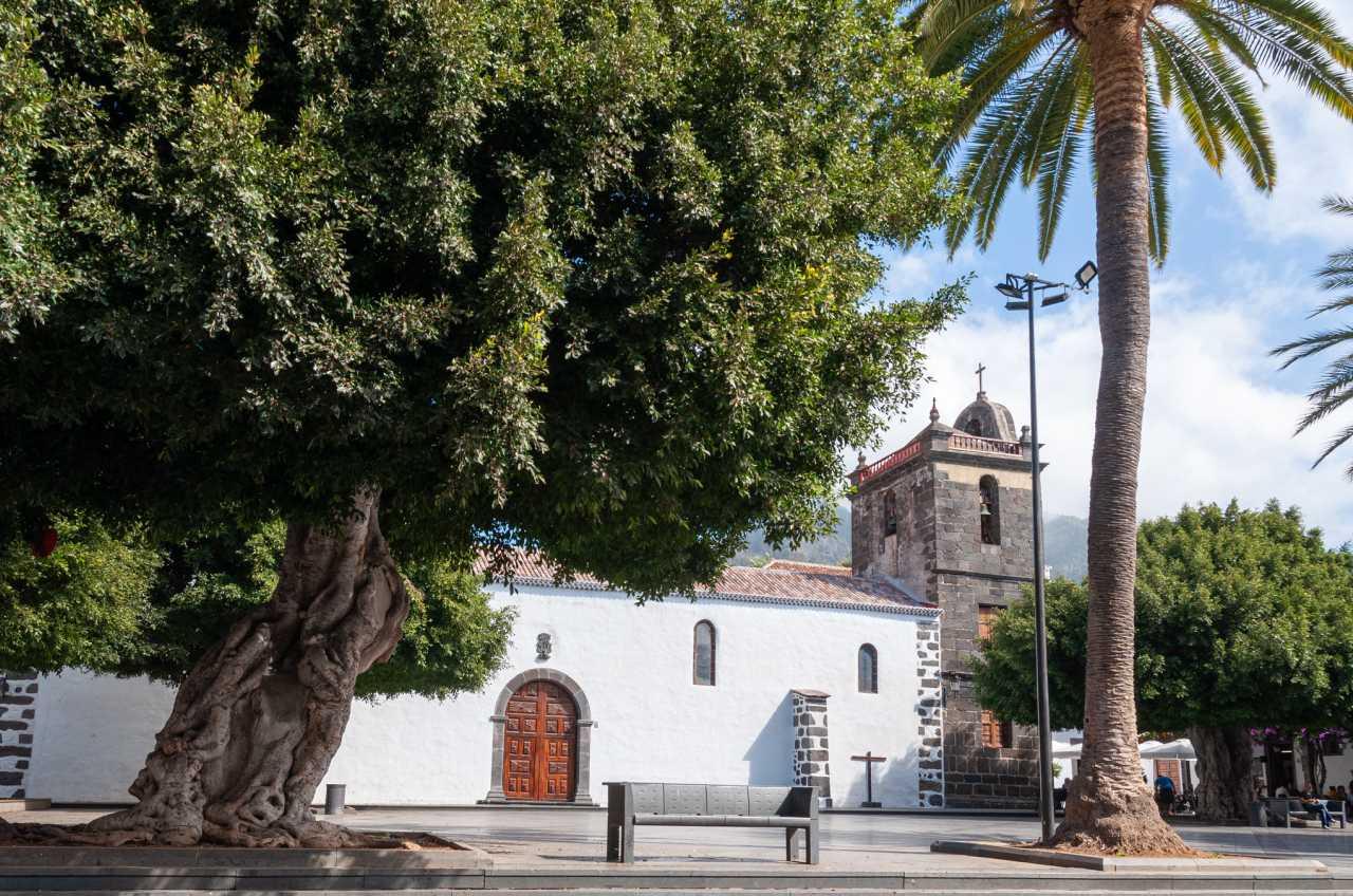 Kirche am Plaza de España in Los Llanos