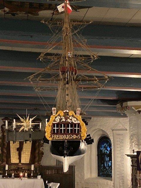 Kirchenschiff von Hooge