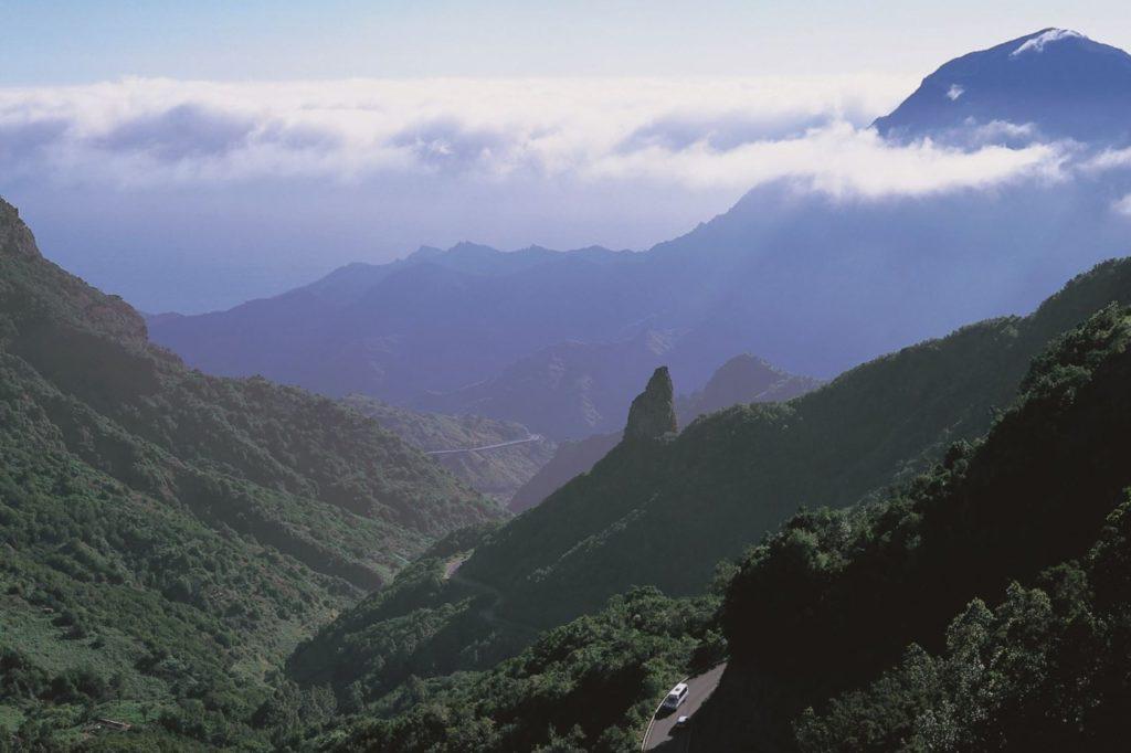 Landschaftsbild La Gomera Nationalpark Garajonay