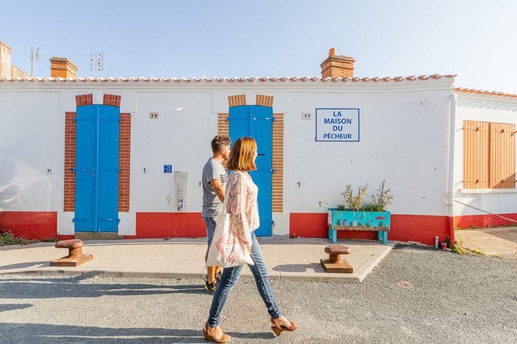 Marokkanisches Viertel in Saint-Gilles-Croix-de-Vie