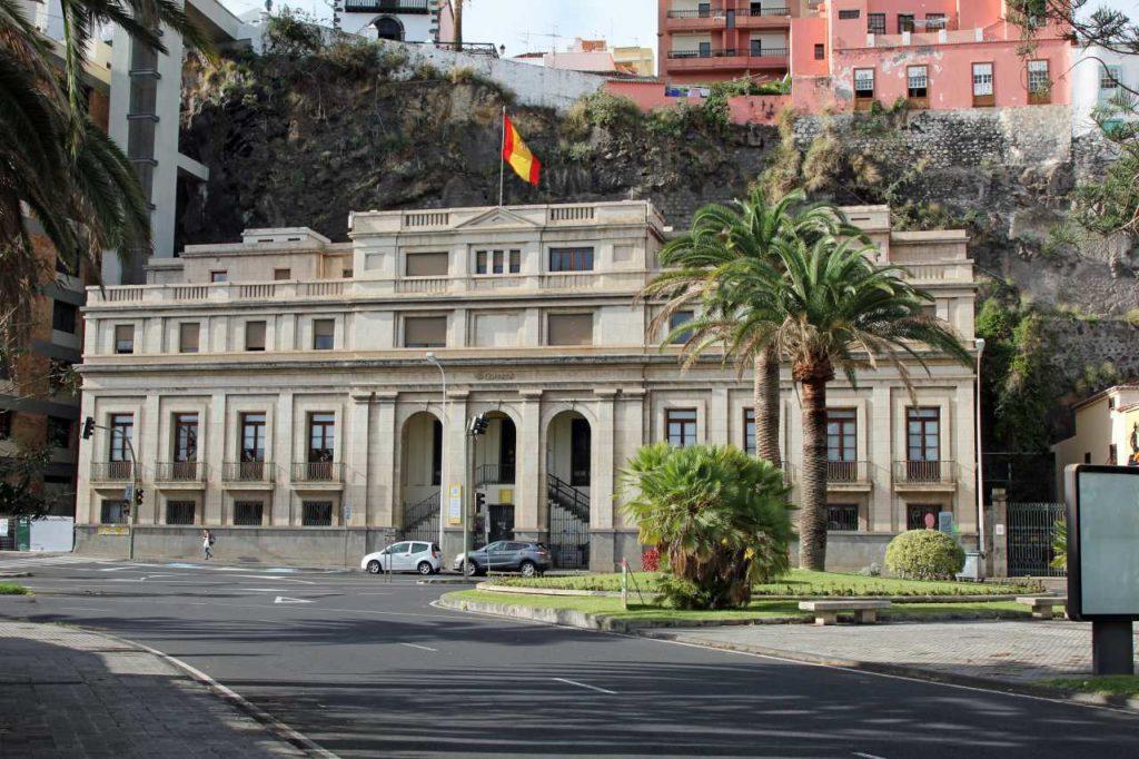 Postamt in Santa Cruz de La Palma