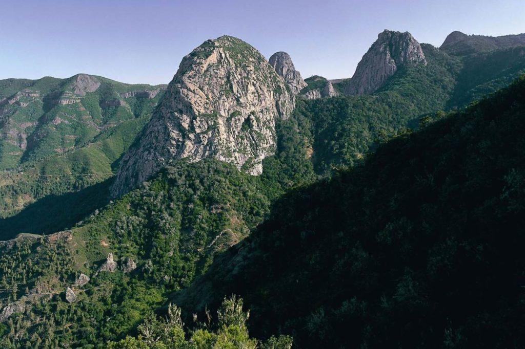 Roque de Ojilla auf La Gomera