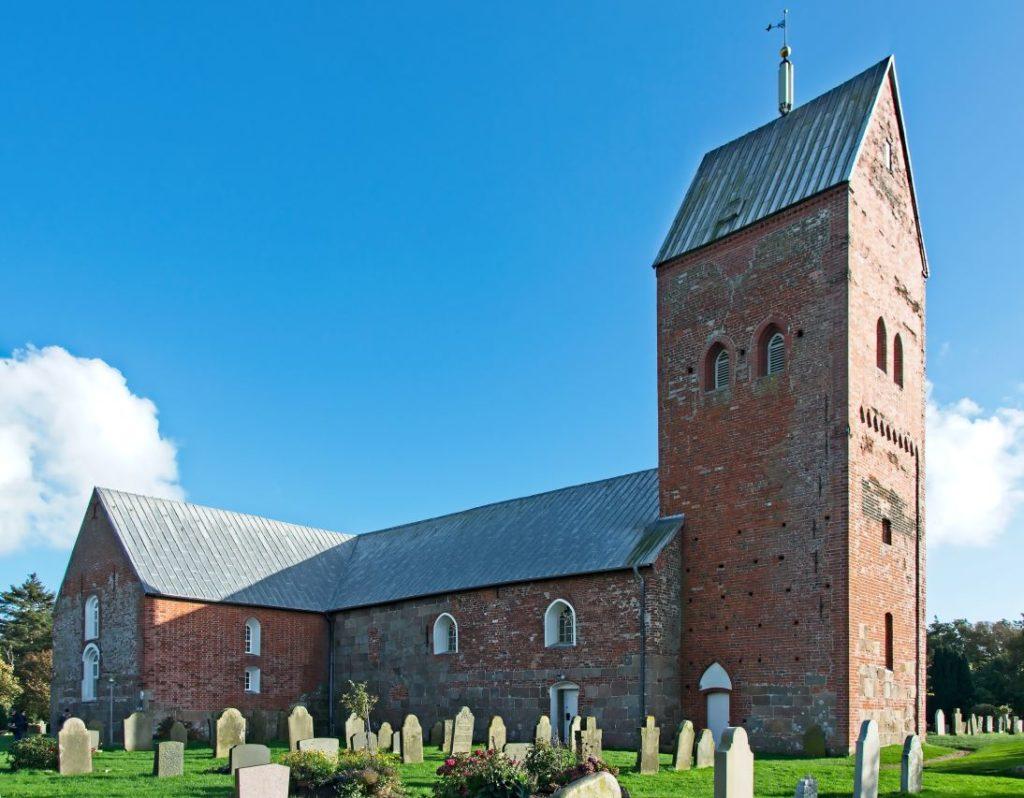 St. Laurentii Kirche auf Föhr