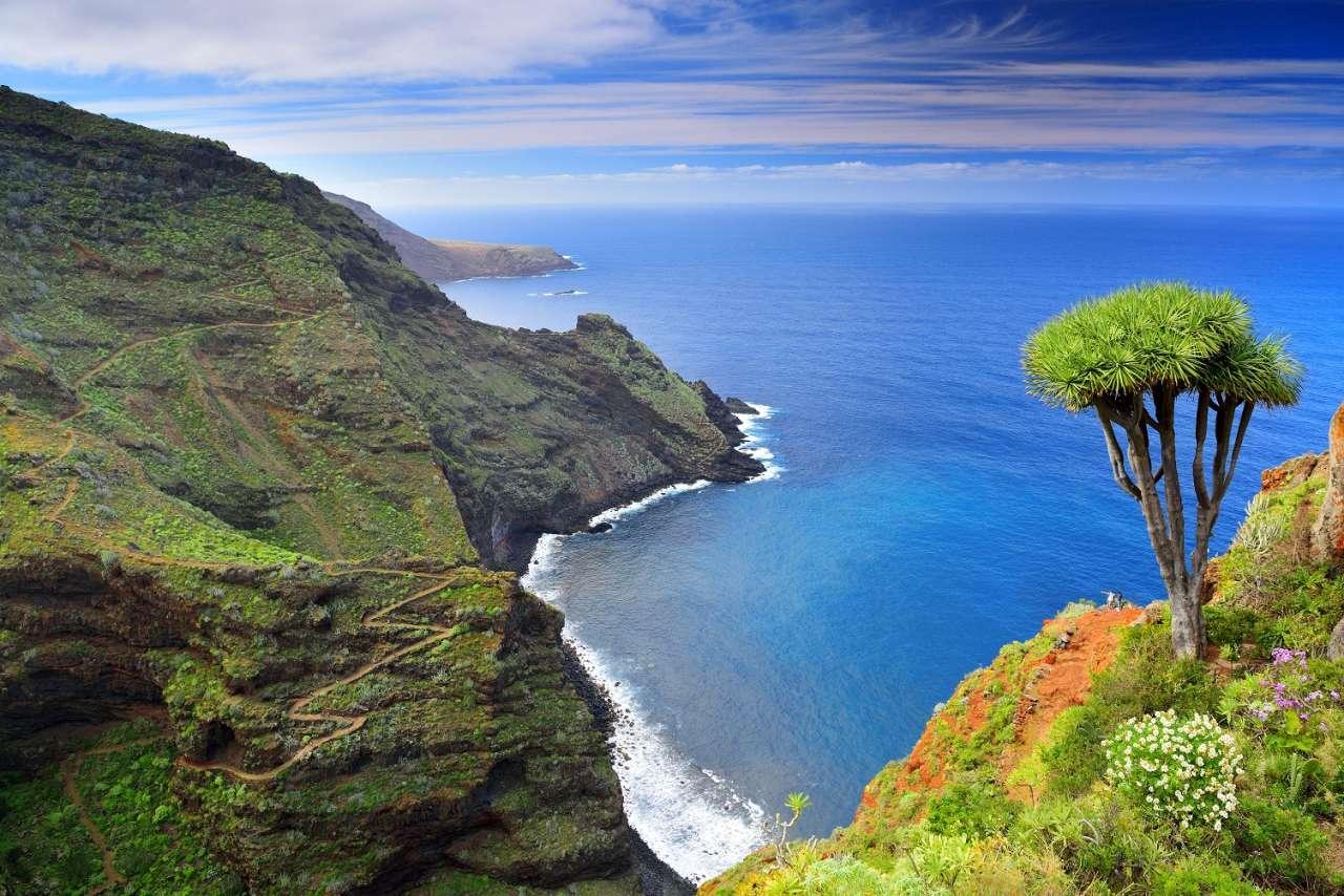 Steilküste im Norden von La Palma