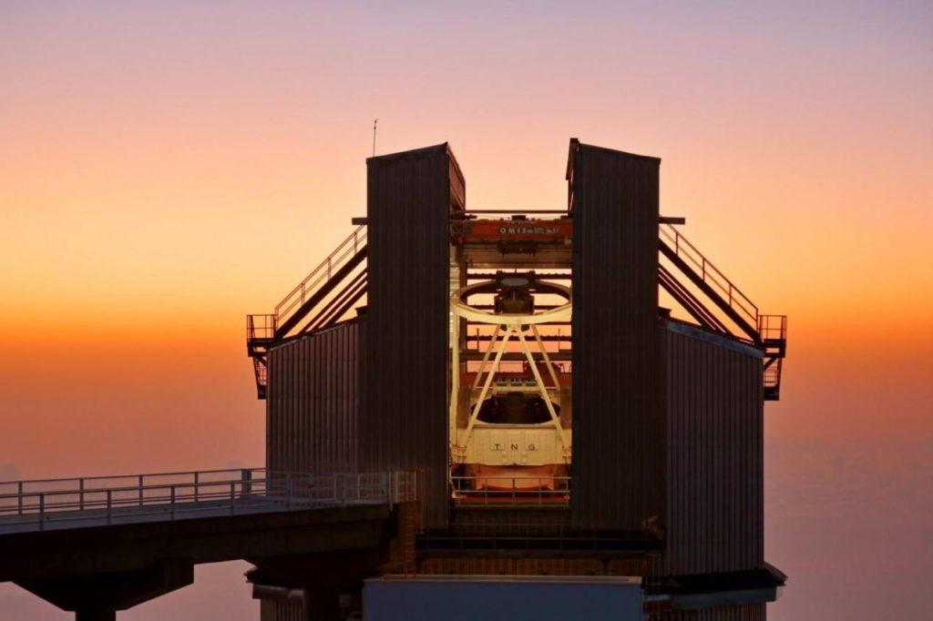 Telescopio Nazionale Galileo auf La Palma