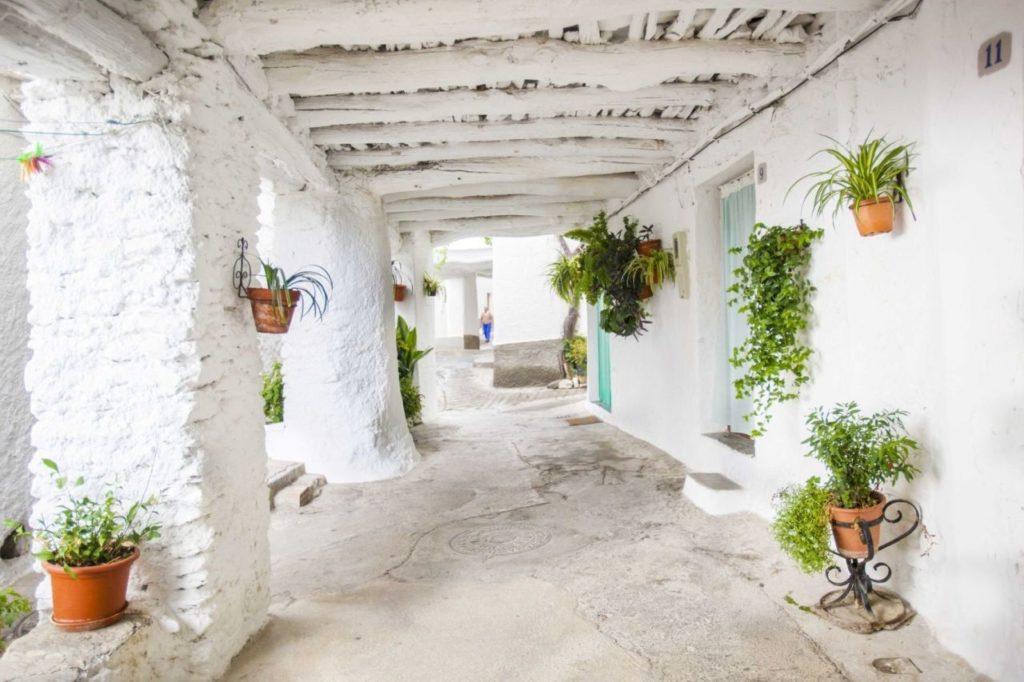 Typisches Haus in Capileira