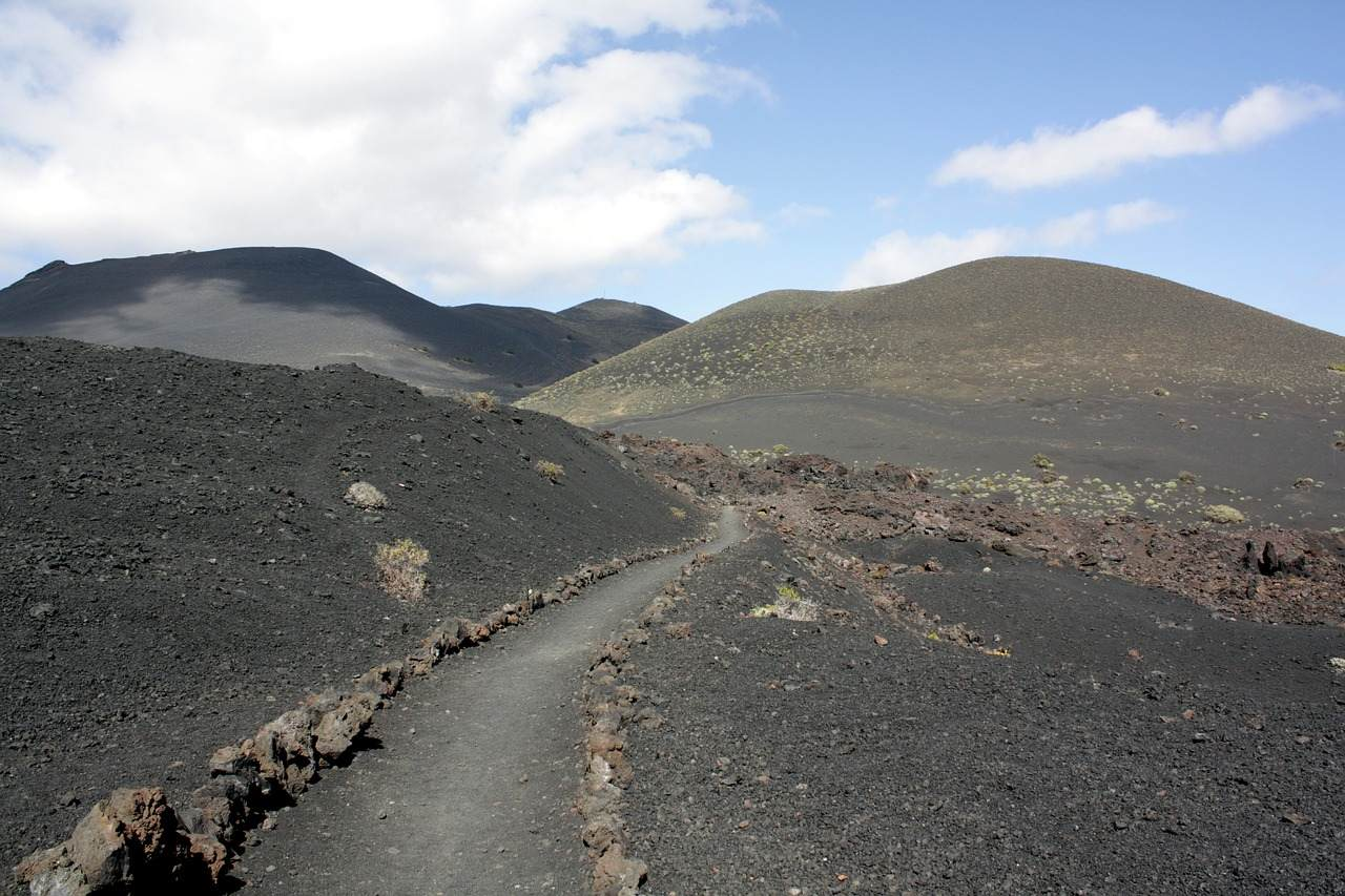 Vulkanlandschaft bei Fuencaliente auf La Palma
