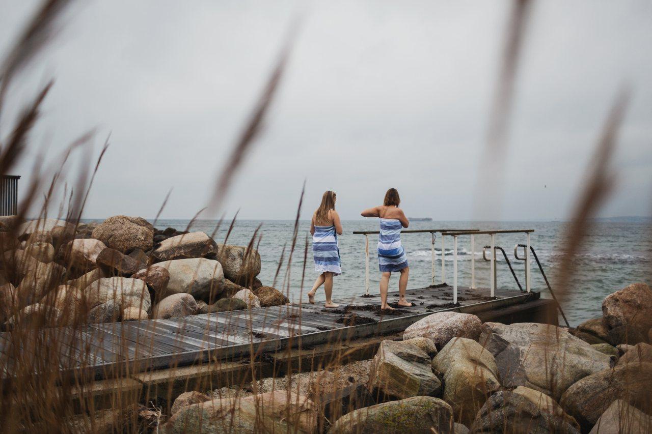 Winterbaden Ostsee Skåne