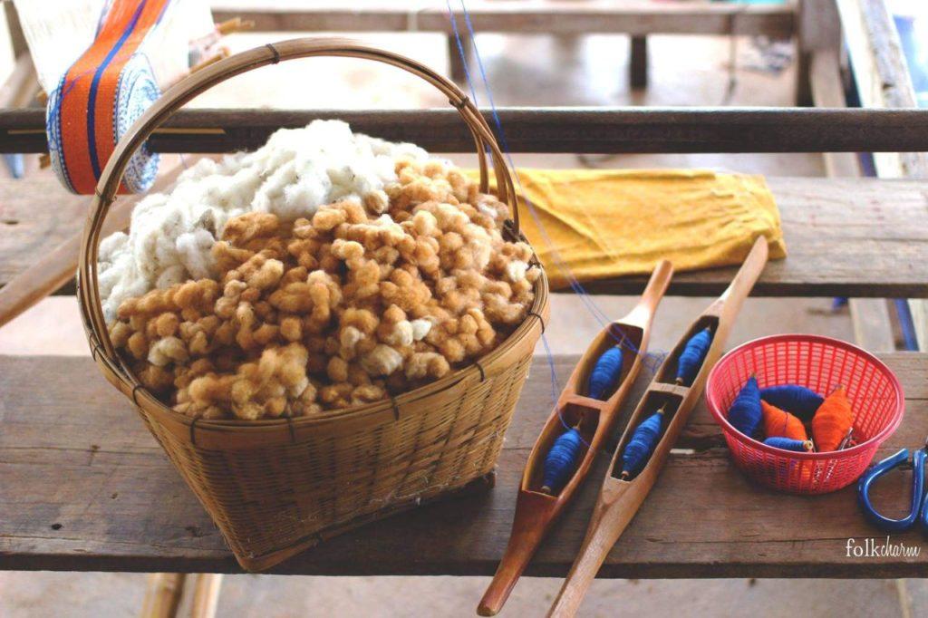 Baumwolle als Rohstoff bei Folkcharm