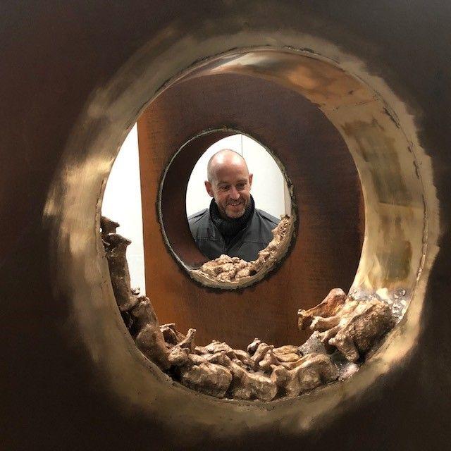 Bildhauer Holger Lönze lebt in Irland