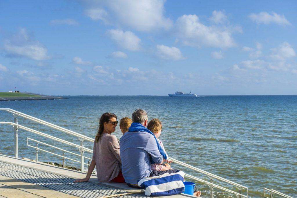 Büsum Blick auf die Nordsee