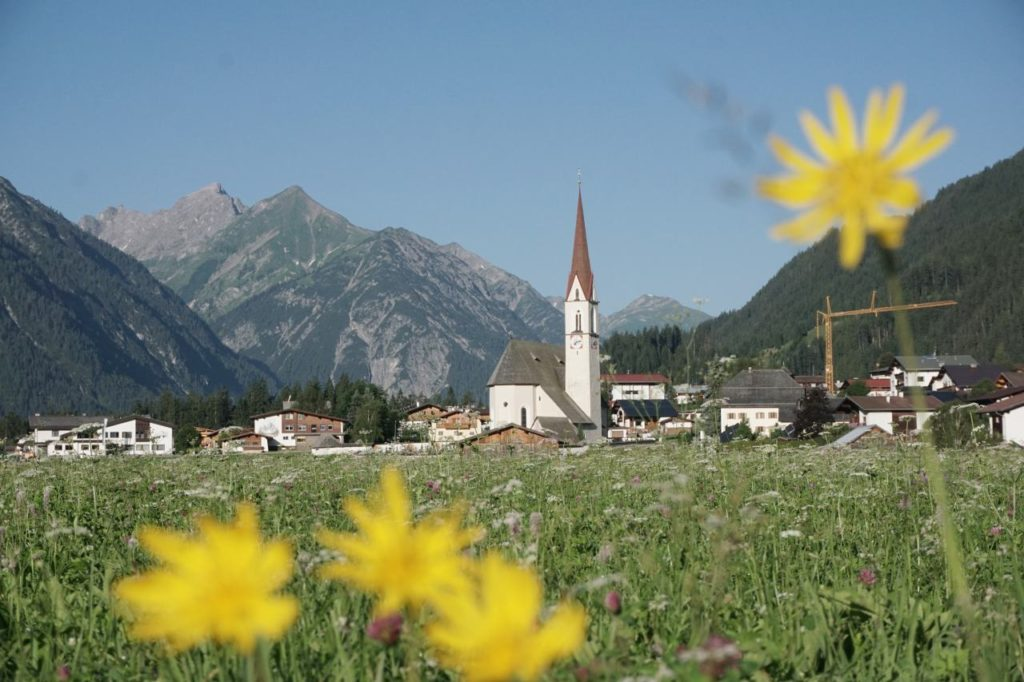 Elbigenalp im Tiroler Lechtal
