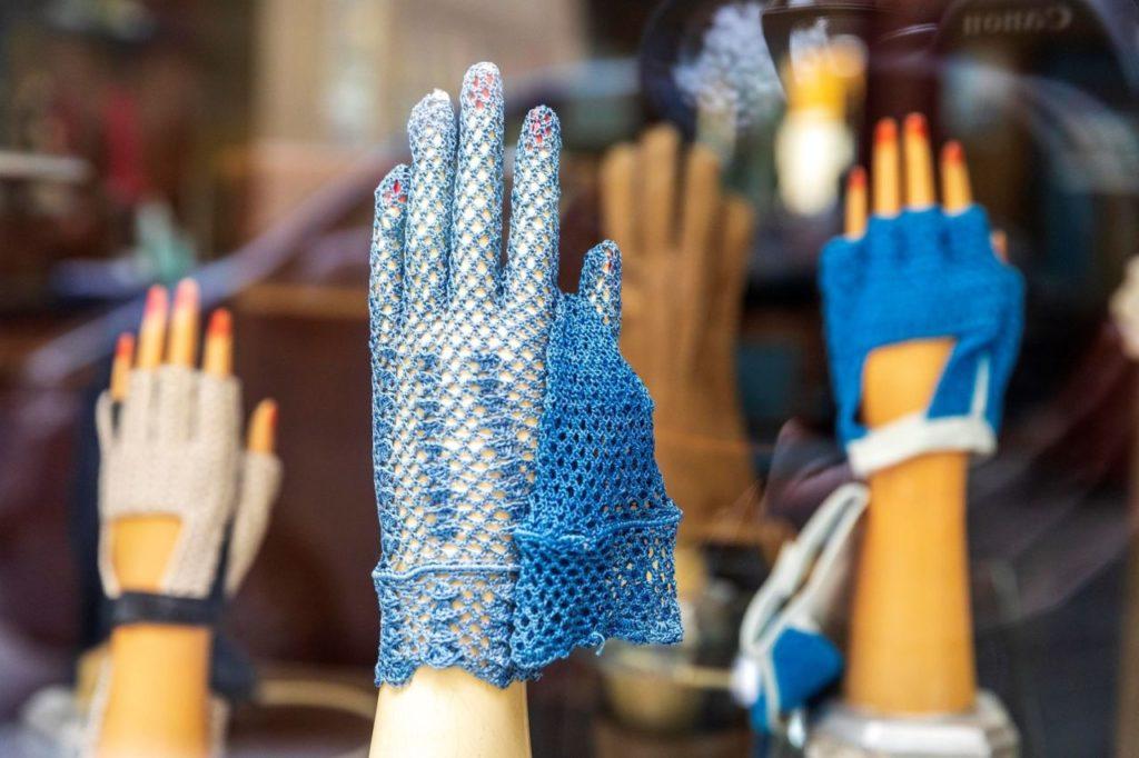 Extravagante modische Luque Handschuhe